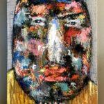 Abstrakt ansigt